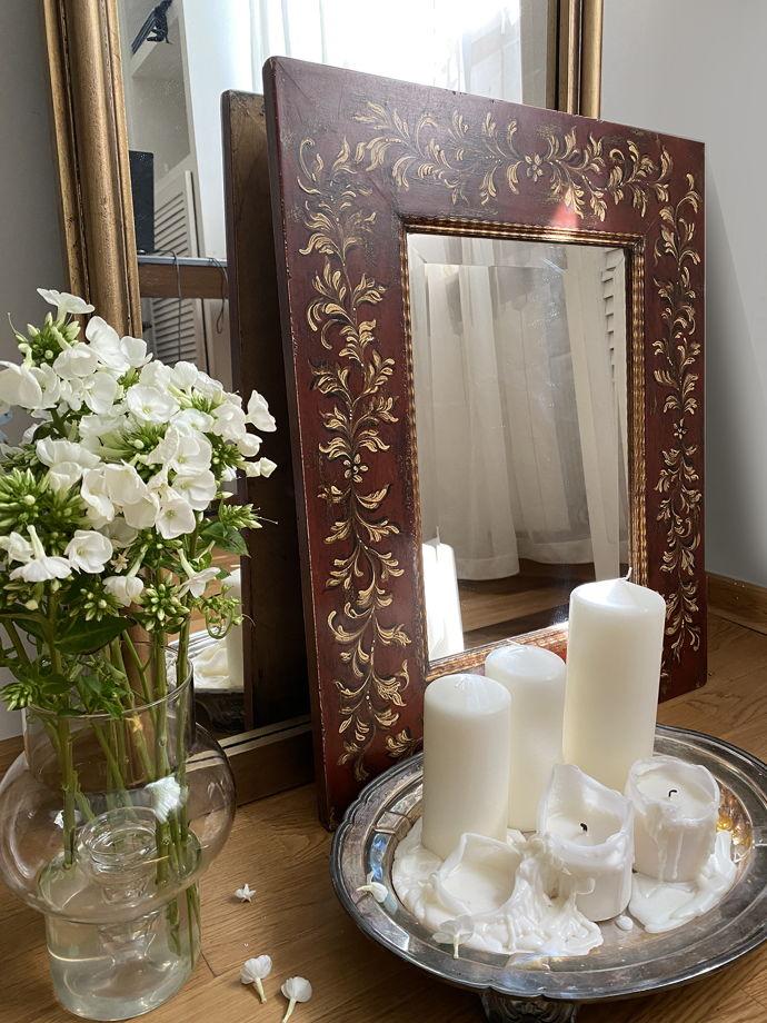 Винтажное зеркало итальянской работы