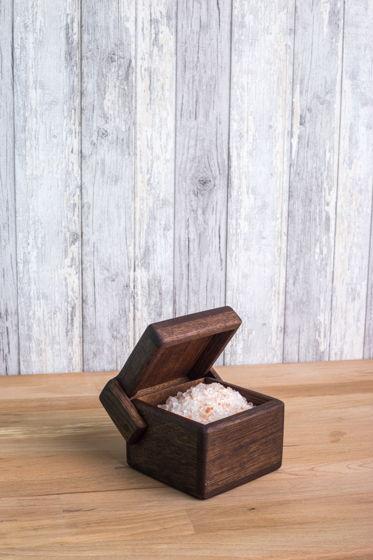 "Коробочка из дуба для хранения ""Кубик"""