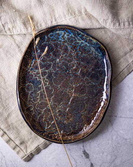 Набор ажурных керамических тарелок Lace me tender