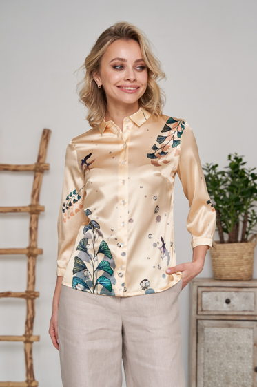 Рубашка из натурального шелка Splensilk