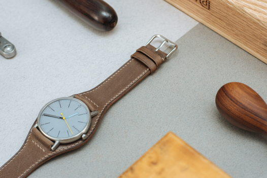 Бундстрап для часов из кожи Maine