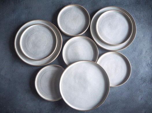 Тарелка из серии Изморозь, 18 см