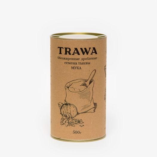 Обезжиренные дробленые семена тыквы (МУКА), 500 гр