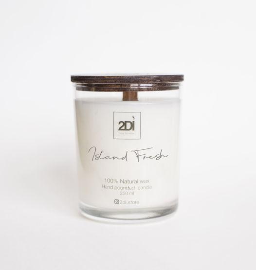 Ароматическая свеча 190 мл,Island Fresh, Остров свежести