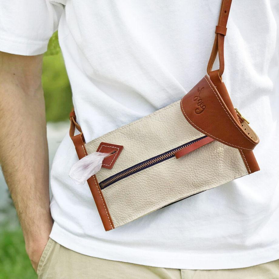 Кожаная сумка Walkie