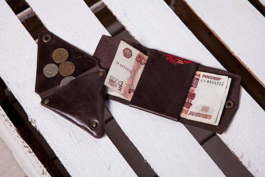 Комплект из монетницы и кошелька