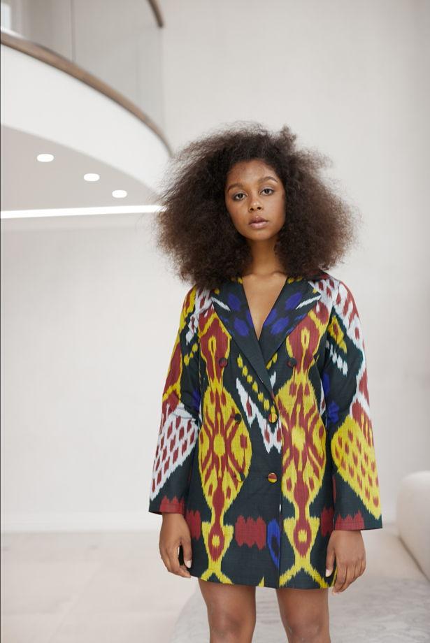 Платье-пиджак Aurora из натуральной ткани