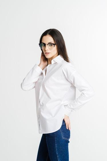 Белая рубашка из итальянского хлопка