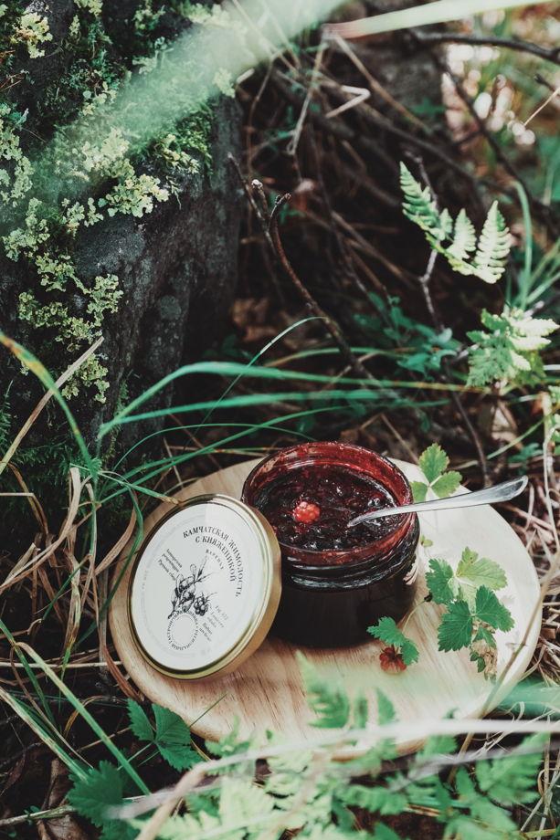 Камчатское варенье из жимолости и княженики