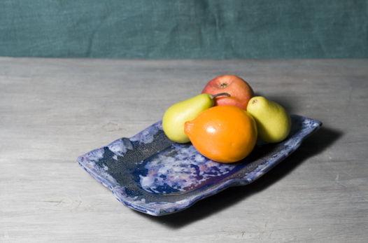 Мятые пластовые тарелки (средние)