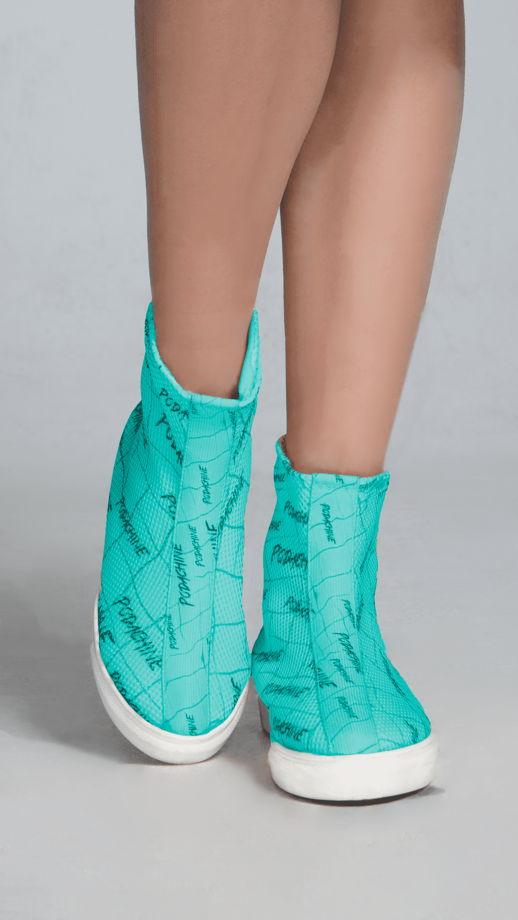 Кроссовки завышенные Podachineciaga Color