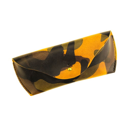 Очечник из натуральной кожи в цвете камуфляж