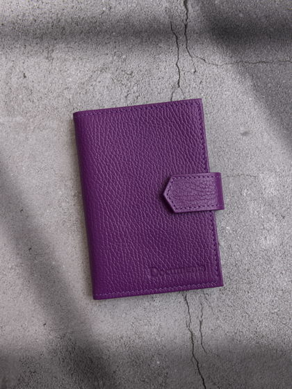 Обложка для автодокументов и паспорта Фиолетовый