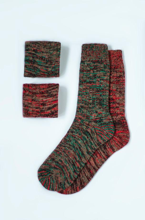 Набор из 2х пар шерстяных носков