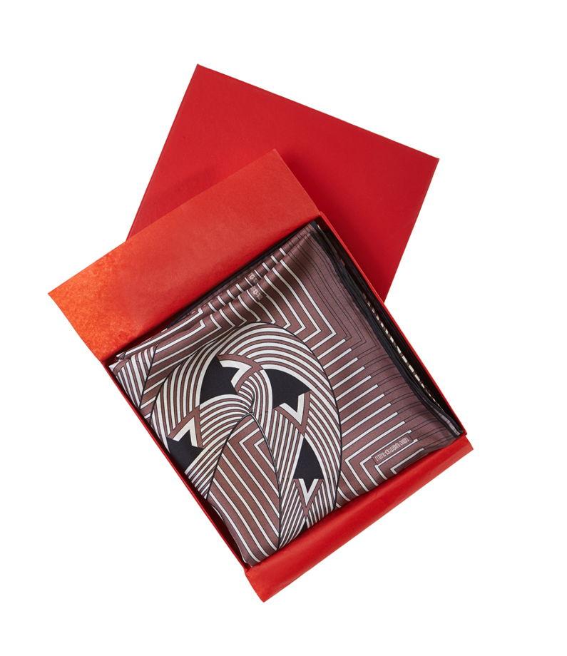 Шелковый платок Песнь о Вещем Олеге