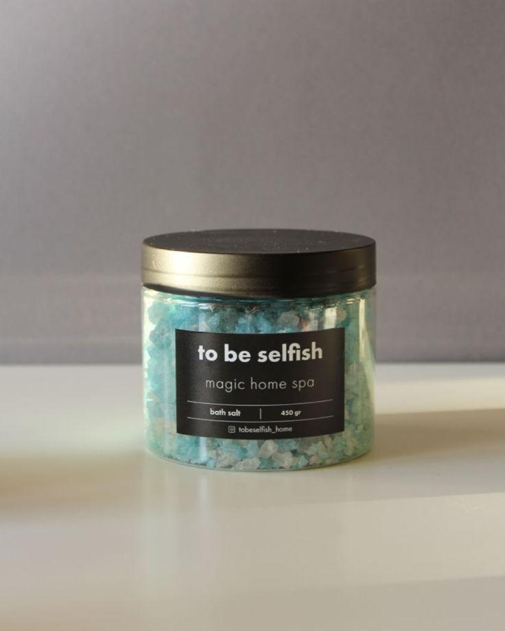 Соль для ванн magic home spa