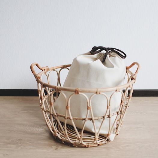Мешок для хранения одежды с коричневым шнурком , XXXL