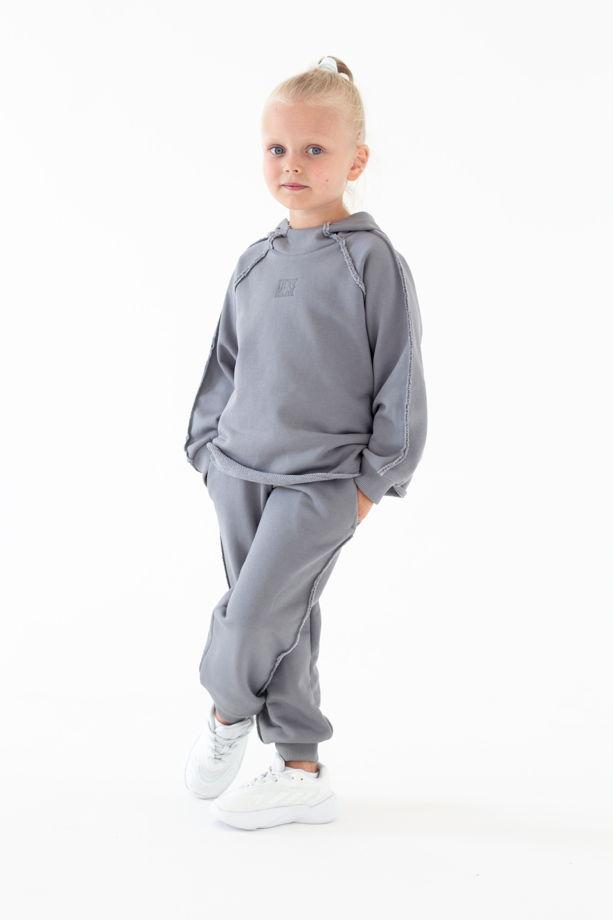 Детский костюм из нежного футера