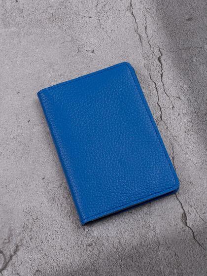 """Обложка для паспорта """"Verona"""" Гермес Ярко-синий"""