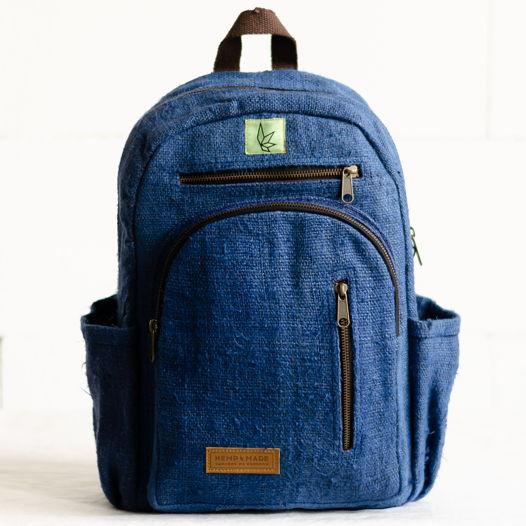 Рюкзак из конопли Патан, синий