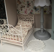 Металлическая кровать Принцессы.