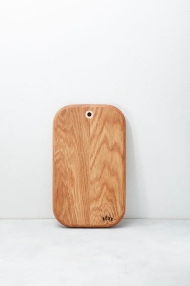 Доска разделочная деревянная ручной работы  Rökk Sma cirkel