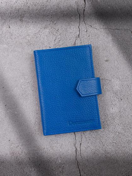 Обложка для автодокументов и паспорта Светло-синий