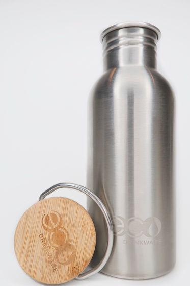 Бутылка для Воды с Бамбуковой Крышкой 500мл