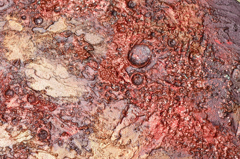 """Фактурная картина """"Марс"""" с блестками"""