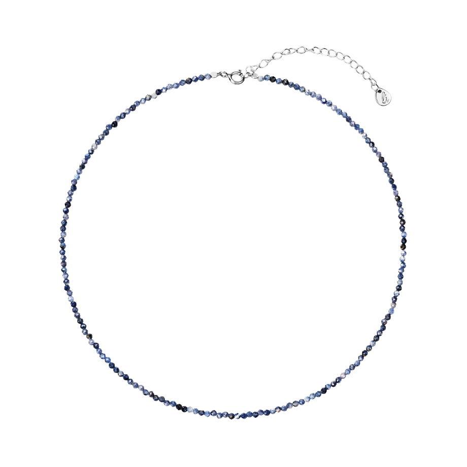 Чокер и камней синего сапфира