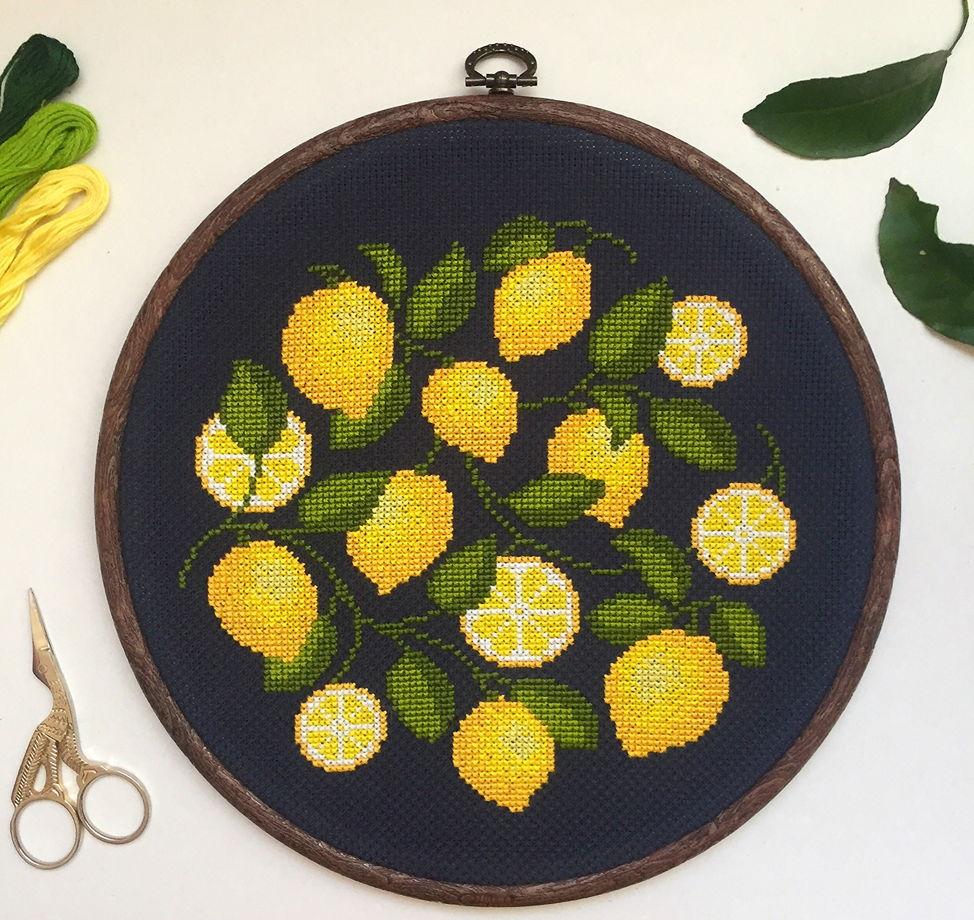 Настенное панно «Итальянские лимончики»