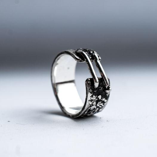 Кольцо из серебра Шрам