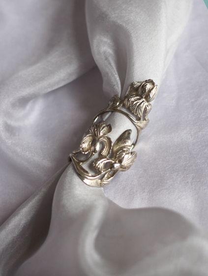 Двухфаланговое кольцо Ирисы