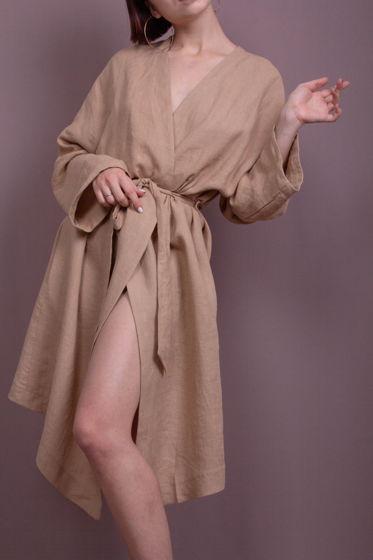 Платье-халат Речной Песок