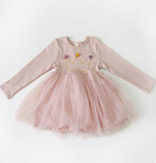 """Платье маленькой принцессы """"Балерина"""", розовое"""
