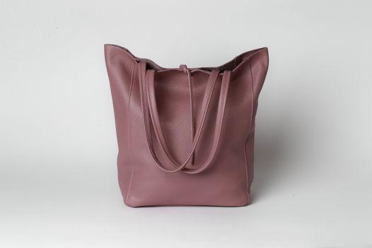 Кожаная сумка Luna в стиле Tote. В наличии в Москве.