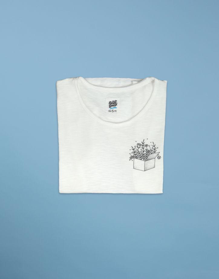 """Белая футболка """"Box"""""""