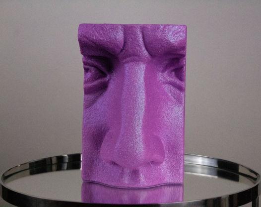 Гипсовая скульптура нос Давида 16х11х26 см