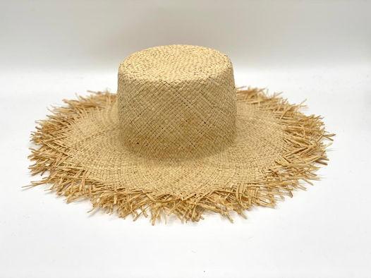 Шляпы летние из соломы
