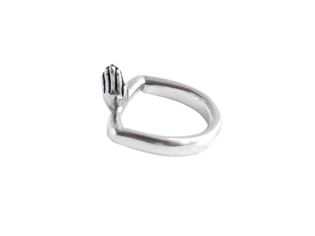 Серебряное кольцо Namaste