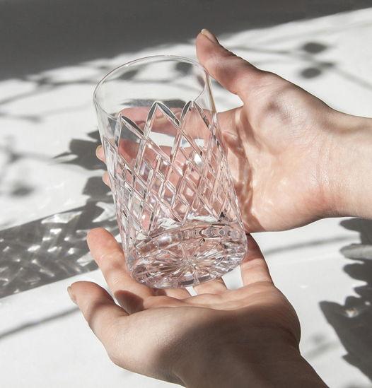 Хрустальные стаканы 'SUNNY BUNNY', 2 шт, 250 мл