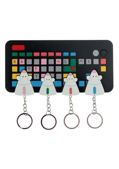 ключница «мышь клавиатура х4»