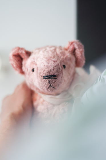 "Мишка тедди ""Pink Peony"""