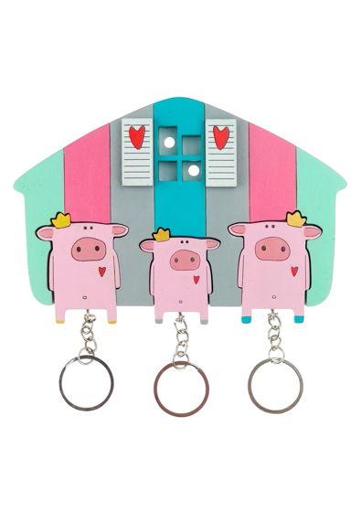 ключница «свинки х3»