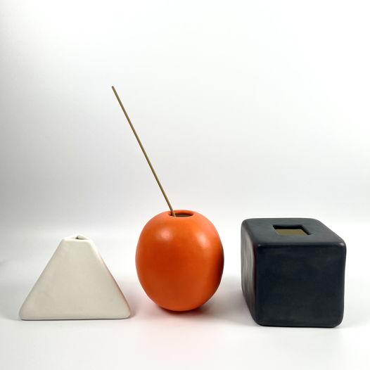 Керамический набор из трех предметов HOME