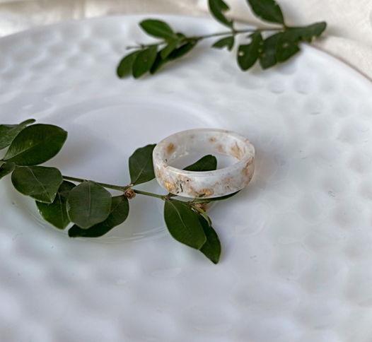 Небесное кольцо из эпоксидной смолы