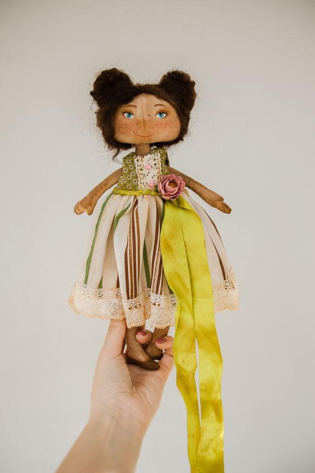 Интерьерная авторская кукла ручной работы