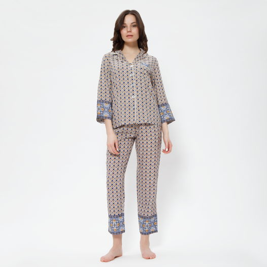 "Пижама ""Ифран"" голубая"