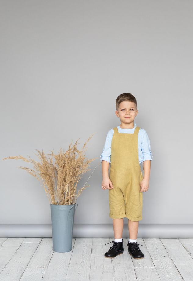Комбинезон детский унисекс (оливковый)