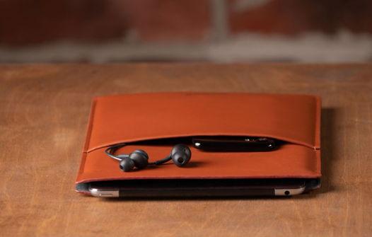 Чехол для планшета из натуральной кожи, модель Tablet Case. Brown